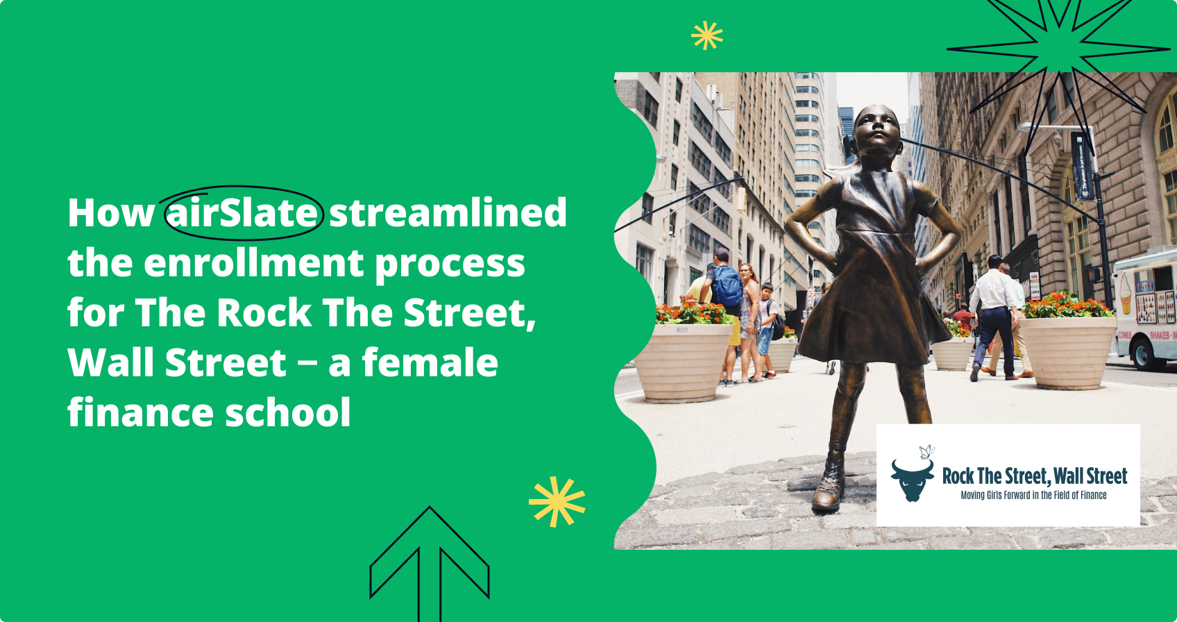 How a female finance school uses airSlate to enroll more students