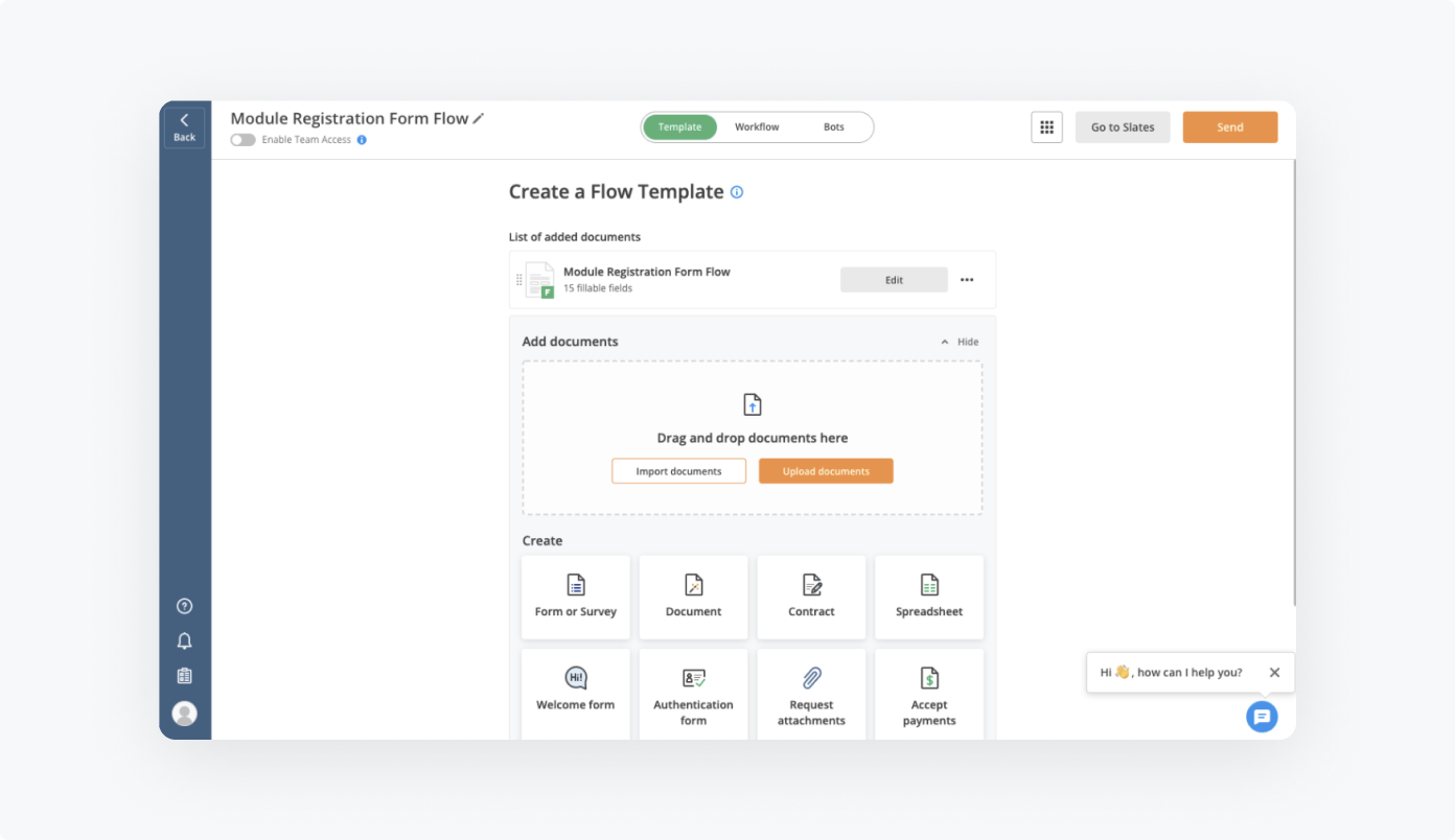 How to set up Module Registration Form Flow by airSlate