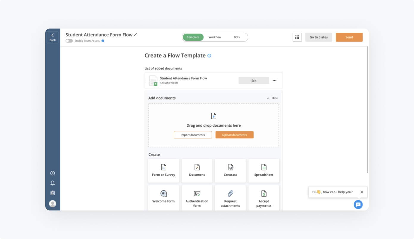 How to set up Student Attendance Form Flow by airSlate
